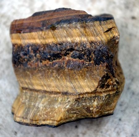 golden tiger eye mineral specimen GTEMS01