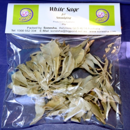 white sage packet